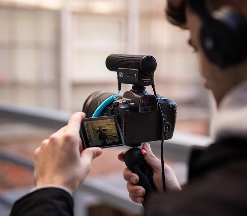 Sennheiser's new MKE 400 shotgun mic and XS Lav mics are for creatives on-the-go