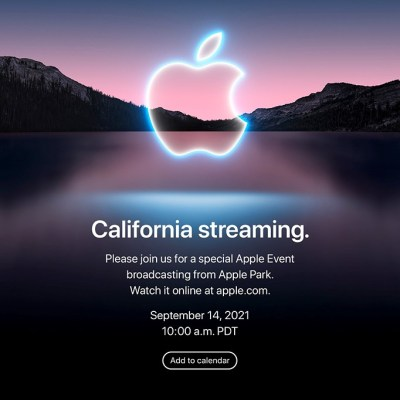 Apple announces September 14 livestream event, expected to unveil its latest iPhone models