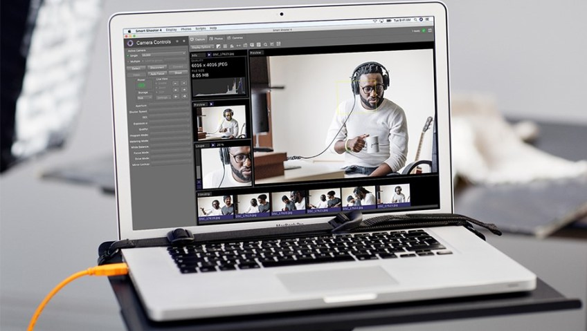 Tether Tools Smart Shooter 4 adds Sony tethering to Lightroom Classic: Digital Photography Review