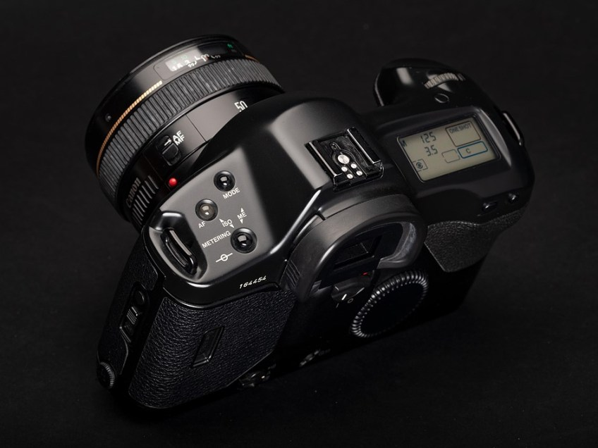 From the T90 to the EOS R3 – a visual tour of Canon's high-end cameras (photo gallery)