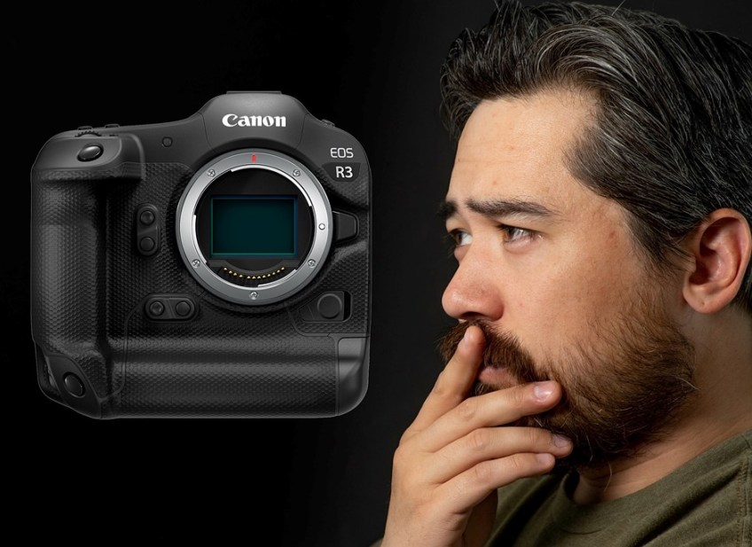 Chris and Jordan react to the Canon EOS R3 announcement