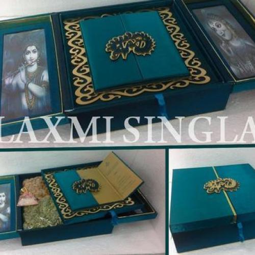 Wedding Cards Bo Decorated Manufacturer From Delhi