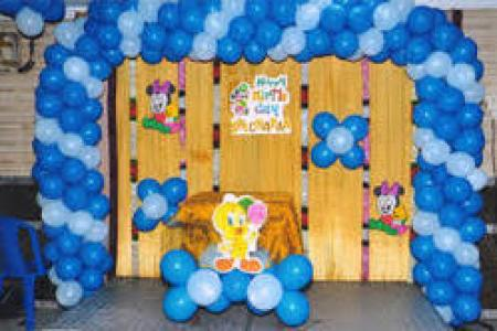 Balloon Decoration Services in Faridabad Balloon Decoration