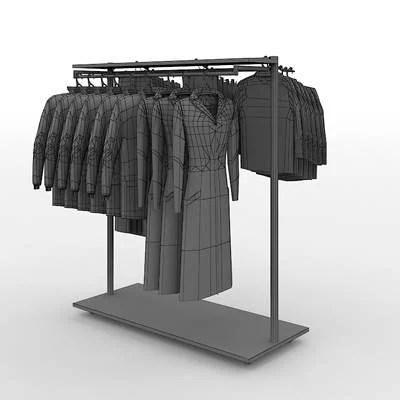 long coat hanging racks