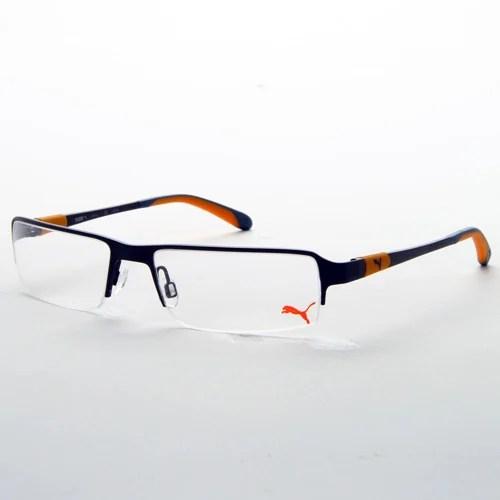 9fd71ea51fdb Puma Eyewear Black Metal Gl Frame Exporter From Bengaluru