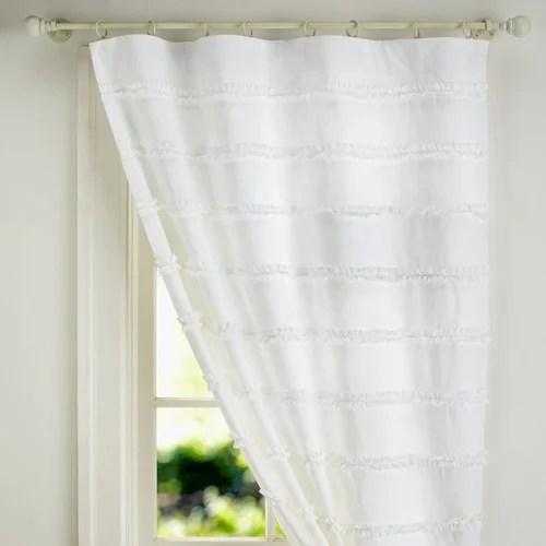 plain designer curtains