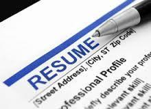 Resume consulting services
