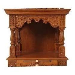 Door Design Pooja Room In Kitchen Designs Good Simple. Simple Wooden Temple  ...