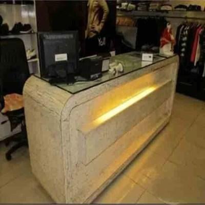 Showroom Furniture - Cash Counter Manufacturer from Hyderabad