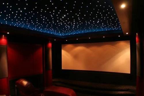 home theater fiber optics light