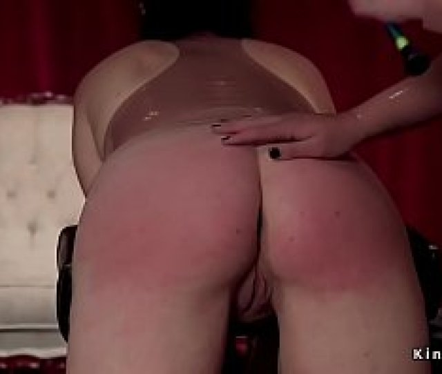 Steaming Girl On Girl Marionettes Paddled And Boned