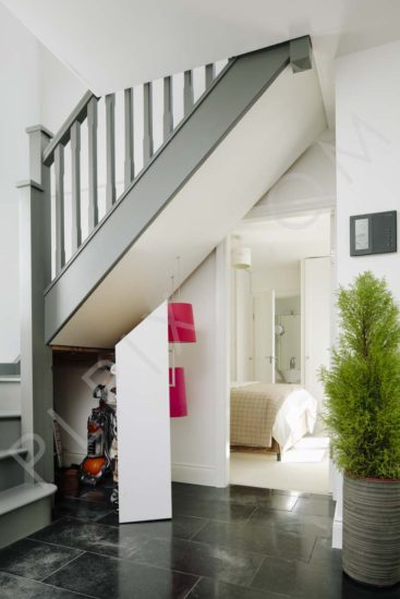 Small Contemporary Town House Interior Architectural