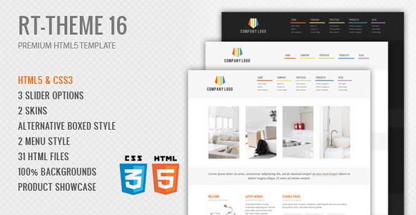 RT-Theme 17 Premium HTML5 Template - 6
