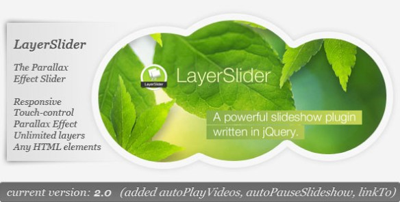 LayerSlider - The Parallax Effect Slider