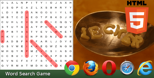 Word Search Game - CodeCanyon Item for Sale