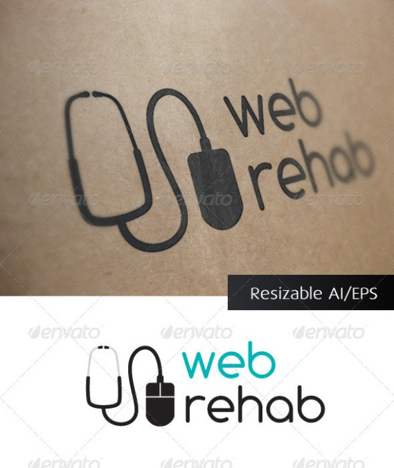 Web Rehab IT Solutions Logo