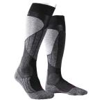 Falke SK1 skisokken zwart/grijs dames