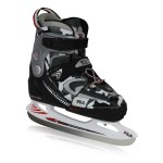 Fila verstelbare ijshockeyschaatsen X-One zwart/grijs kinderen