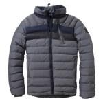 Twinlife Graphite winterjas heren grijs/marine
