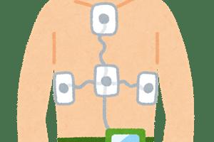 ホルター心電図のイラスト
