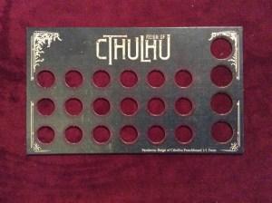 Pandemic Cthulhu Punchboard