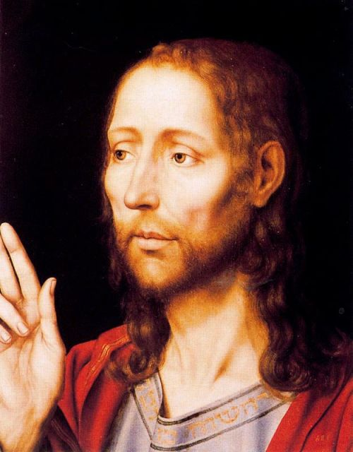 Jan Massys1465/66-1530<br />The Savior<br />oil on wood