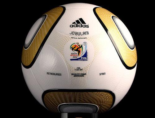 madeineastsea Ball at the finals: A Golden Jabulani.
