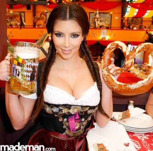 Kim at Octoberfest Click here for more