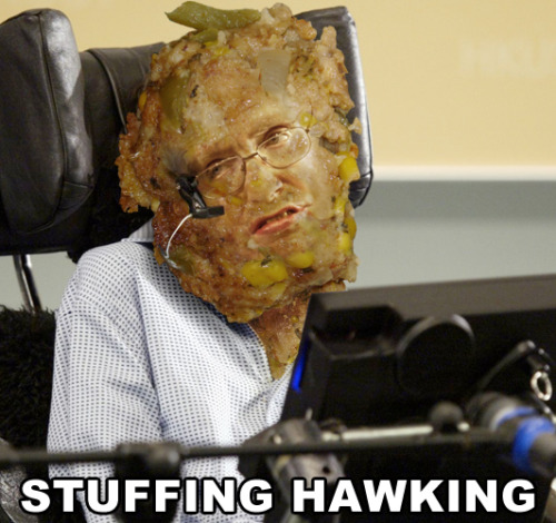 Stuffing Hawking (suggested by Victor)