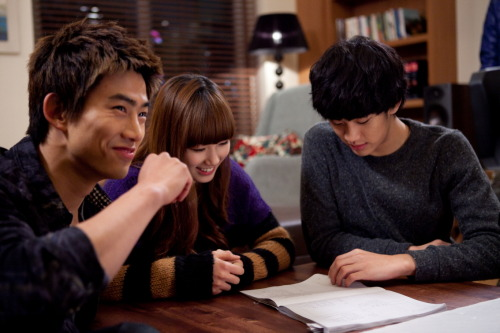 110114 Dream High's Twitter view in high-res (: