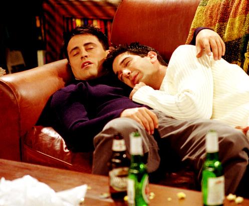 Joey, Ross, Friends