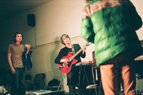 derek brown, steven drozd, & wayne coyne of the flaming lips, april 2011