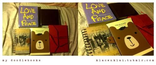 my doodlebooks