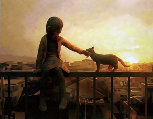 Shintaro OhataExhibition at the Yukari Art Contemprary in Tokyo, Japan.Via My Modern Met