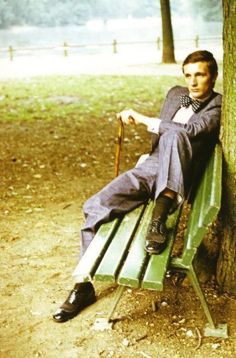 jonnymacali:  Jacques de BascherLac Saint James, Neuilly 1973