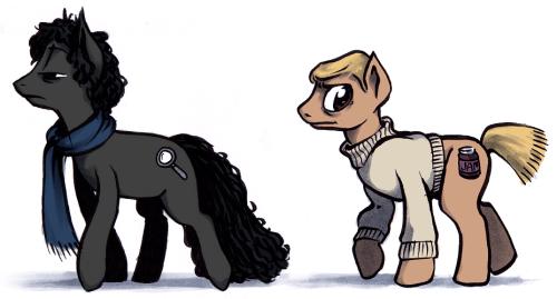Sherlock and Watson: Ponies by Vondell Swain