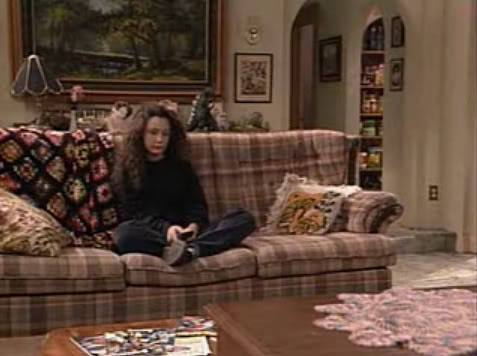 suicideblonde:  Roseanne:What are you going to do this weekend?Darlene:Nothing.Roseanne:Isn't that what you did last weekend?Darlene:I'm not finished.