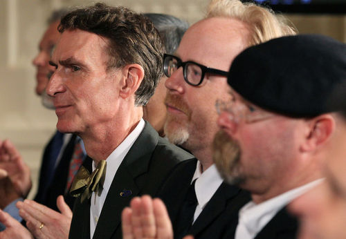 Bill Nye the Science Guy and the Mythbusters