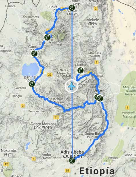 Etiopia, Africa - Viajes de Aventura y Viajes Alternativos y de Turismo Responsable, Mochilero, Grupo, Solo - Sudamerica - 3000KM