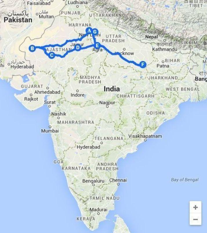 Viaje a India 3000KM