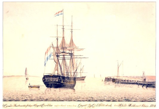 Het fregat Euridice