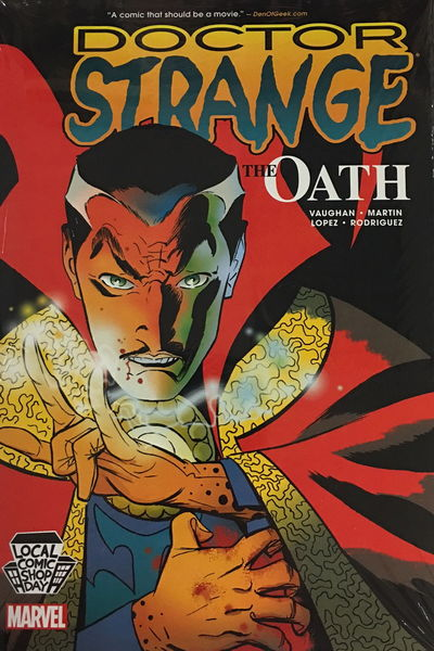 Doctor Strange: The Oath written by Brian K. Vaughan, art by Marcos Martin, colored by Javier Rodriguez