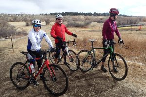 Scouting the 2016 Bandido Cross course on the pre-ride. Photo by Dave Nice.