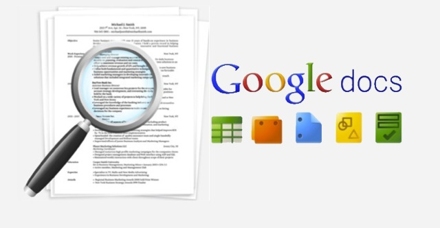 a guide to posting your resume online with google docs simply
