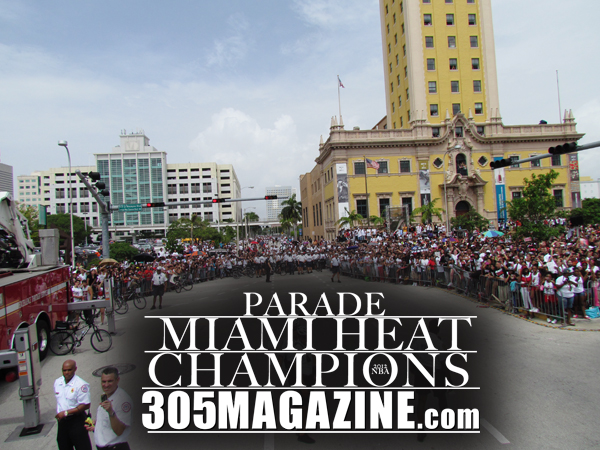 Miami Heat Parade 2012