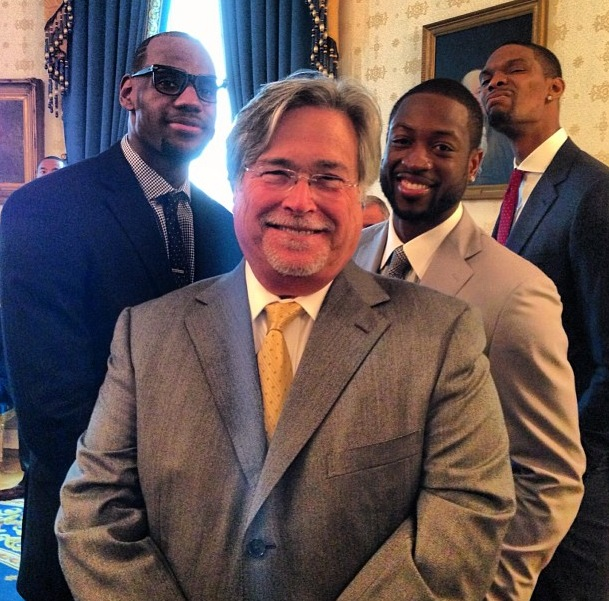 Lebron Wade Bosh Mickey - Presidential