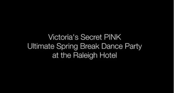 Victoria's Secret spring break party in Miami Beach