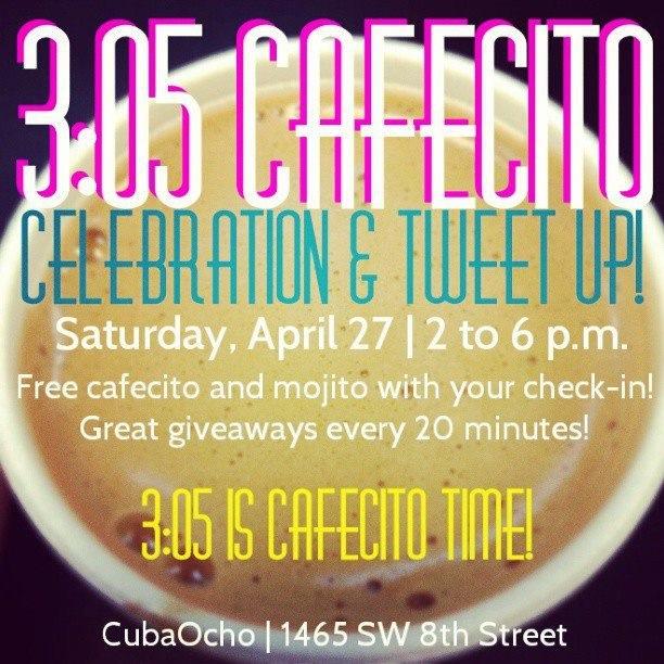 305 Cafecito tweet up