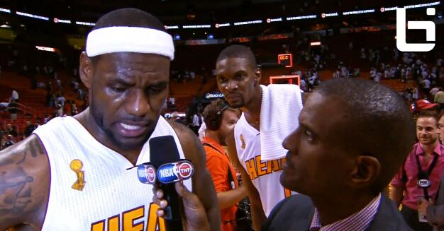 Chris Bosh Video Bombs LeBron