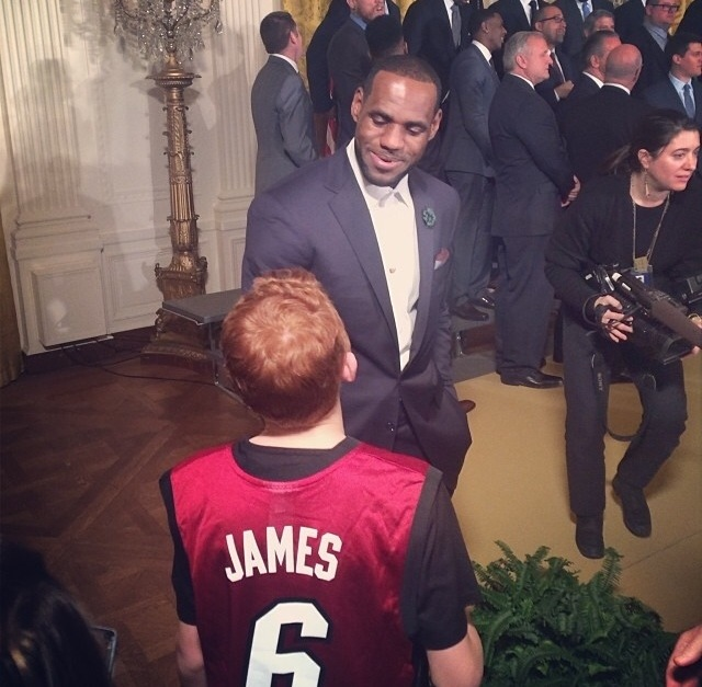 LeBron James at White House 2014.jpg